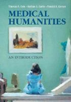 Cole, Thomas R., Carlin, Nathan S., Carson, Ronald A. - Medical Humanities: An Introduction - 9781107614178 - V9781107614178