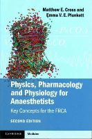 Cross, Matthew; Plunkett, Emma V. E. - Physics, Pharmacology and Physiology for Anaesthetists - 9781107615885 - V9781107615885