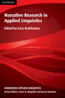 Barkhuizen, Gary - Narrative Research in Applied Linguistics - 9781107618640 - V9781107618640