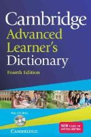 - Cambridge Advanced Learner's Dictionary with CD-ROM - 9781107619500 - V9781107619500