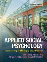 - Applied Social Psychology: Understanding and Managing Social Problems - 9781107620292 - V9781107620292