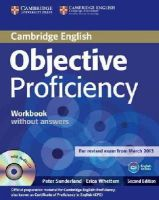 Sunderland, Peter, Whettem, Erica - Objective Proficiency Workbook without Answers with Audio CD - 9781107621565 - V9781107621565