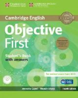 Capel, Annette; Sharp, Wendy - Objective First Student's Book Pack (Student's Book with Answers with CD-ROM and Class Audio CDs(2)) - 9781107628472 - V9781107628472