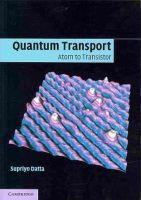 Datta, Supriyo - Quantum Transport - 9781107632134 - V9781107632134