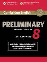 Varios - Cambridge English Preliminary 8 Student's Book with Answers - 9781107632233 - V9781107632233
