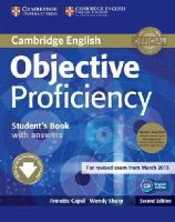Capel, Annette, Sharp, Wendy - Objective Proficiency Student's Book Pack (Student's Book with Answers with Downloadable Software and Class Audio CDs (2)) - 9781107633681 - V9781107633681
