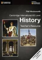 Wadsworth, Phil - Cambridge International AS Level History Teacher's Resource CD-ROM (Cambridge International Examinations) - 9781107638600 - V9781107638600
