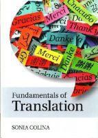 Colina, Sonia - Fundamentals of Translation - 9781107645462 - V9781107645462