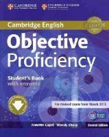 Capel, Annette, Sharp, Wendy - Objective Proficiency Student's Book with Answers with Downloadable Software - 9781107646377 - V9781107646377