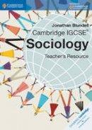 Blundell, Jonathan - Cambridge IGCSE Sociology Teacher CD-ROM (Cambridge International Examinations) - 9781107651388 - V9781107651388