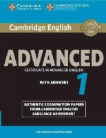 Cela - Cambridge English Advanced 1 for Revised Exam from 2015 Student's Book with Answers: Authentic Examination Papers from Cambridge English Language Assessment (CAE Practice Tests) - 9781107653511 - V9781107653511