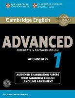 Cela - Cambridge English Advanced 1 for Revised Exam from 2015 Student's Book Pack (Student's Book with Answers and Audio CDs (2)): Authentic Examination ... Language Assessment (CAE Prac - 9781107654969 - V9781107654969