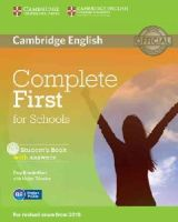 Brook-Hart, Guy - Complete First for Schools Student's Book with Answers with CD-ROM - 9781107661592 - V9781107661592