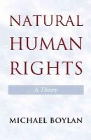 Boylan, Michael - Natural Human Rights - 9781107664210 - V9781107664210