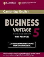 Cambridge ESOL - Cambridge English Business 5 Vantage Student's Book with Answers (BEC Practice Tests) - 9781107664654 - V9781107664654