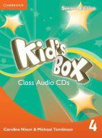 Nixon, Caroline, Tomlinson, Michael - Kid's Box Level 4 Class Audio CDs (3) - 9781107667112 - V9781107667112