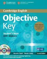 Capel, Annette, Sharp, Wendy - Objective Key Student's Book Pack (Student's Book with Answers with CD-ROM and Class Audio CDs(2)) - 9781107668935 - V9781107668935