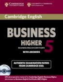 Cambridge ESOL - Cambridge English Business 5 Higher Self-study Pack (Student's Book with Answers and Audio CD) (BEC Practice Tests) - 9781107669178 - V9781107669178