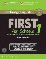 Cambridge University Press and UCLES - Cambridge English First for Schools 1 for Revised Exam from 2015 Student's Book Pack (Student's Book with Answers and Audio CDs (2)): Authentic ... Language Assessment (FCE Practic - 9781107672093 - V9781107672093