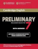 Cambridge ESOL - Cambridge English Preliminary 7 Student's Book with Answers (PET Practice Tests) - 9781107675193 - V9781107675193