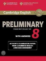 Cambridge University Press - Cambridge English Preliminary 8 Student's Book Pack (Student's Book with Answers and Audio CDs (2)) - 9781107675834 - V9781107675834