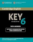 Cambridge ESOL - Cambridge English Key 6 Student's Book with Answers - 9781107679719 - V9781107679719