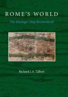 Talbert, Richard J. A. - Rome's World - 9781107685758 - V9781107685758
