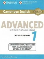 Cela - Cambridge English Advanced 1 for Revised Exam from 2015 Student's Book without Answers: Authentic Examination Papers from Cambridge English Language Assessment (CAE Practice Tests) - 9781107689589 - V9781107689589