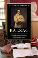 - The Cambridge Companion to Balzac (Cambridge Companions to Literature) - 9781107691285 - V9781107691285