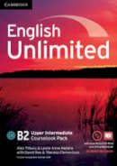 Tilbury, Alex, Clementson, Theresa, Hendra, Leslie Anne, Rea, David, Metcalf, Rob, Cavey, Chris, Greenwood, Alison - English Unlimited Upper Intermediate Coursebook with e-Portfolio and Online Workbook Pack - 9781107691957 - V9781107691957