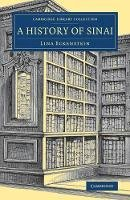 Eckenstein, Lina - A History of Sinai (Cambridge Library Collection - Archaeology) - 9781108082334 - V9781108082334