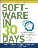Schwaber, Ken; Sutherland, Jeff - Software in 30 Days - 9781118206669 - V9781118206669