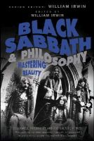 - Black Sabbath and Philosophy: Mastering Reality (The Blackwell Philosophy and Pop Culture Series) - 9781118397596 - V9781118397596