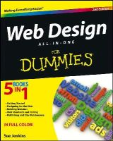 Jenkins, Sue - Web Design All-in-One For Dummies - 9781118404102 - V9781118404102