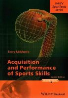 McMorris, Terry - Acquisition and Perfortmance of Sports Skills - 9781118444665 - V9781118444665