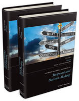 - The Wiley-Blackwell Handbook of Judgment and Decision Making - 9781118468395 - V9781118468395