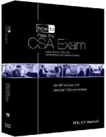 Ahmad, Imtiaz, Nair, Raj, Block, Martin, Easton, Graham - How to Pass the CSA Exam: for GP Trainees and MRCGP CSA Candidates (How to Perform) - 9781118471012 - V9781118471012