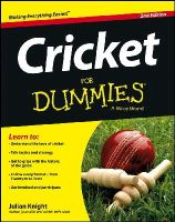 Knight, Julian - Cricket For Dummies (For Dummies (Sports & Hobbies)) - 9781118480328 - V9781118480328