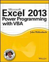 Walkenbach, John - Excel 2013 Power Programming with VBA - 9781118490396 - V9781118490396
