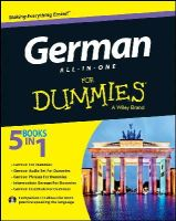 Consumer Dummies - German All-in-One For Dummies, with CD (For Dummies (Lifestyles Paperback)) - 9781118491409 - V9781118491409
