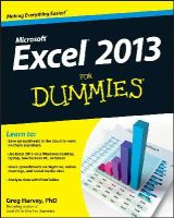 Harvey, Greg - Excel 2013 For Dummies - 9781118510124 - V9781118510124