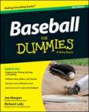 Morgan, Joe - Baseball For Dummies(R) - 9781118510544 - V9781118510544