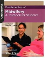 Lewis, Louise - Fundamentals of Midwifery: A Textbook for Students - 9781118528020 - V9781118528020