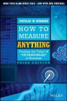 Hubbard, Douglas W. - How to Measure Anything - 9781118539279 - V9781118539279