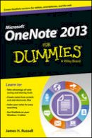 Russell, James H. - OneNote 2013 For Dummies (For Dummies (Computer/Tech)) - 9781118550564 - V9781118550564