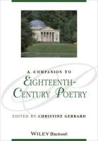- Companion to Eighteenth-Century Poetry - 9781118702291 - V9781118702291
