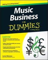 Weisman, Loren - Music Business For Dummies - 9781119049654 - V9781119049654