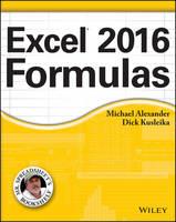 Alexander, Michael; Kusleika, Richard; Walkenbach, John - Excel 2016 Formulas - 9781119067863 - V9781119067863