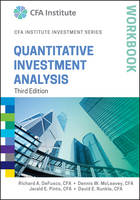 DeFusco, Richard A.; McLeavey, Dennis W.; Pinto, Jerald E.; Runkle, David E. - Quantitative Investment Analysis Workbook - 9781119104544 - V9781119104544