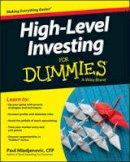 Mladjenovic, Paul; Consumer Dummies - High Level Investing For Dummies - 9781119140818 - V9781119140818